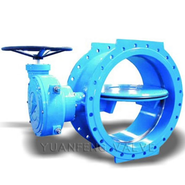 Double Eccentric Flanged Butterfly Valve