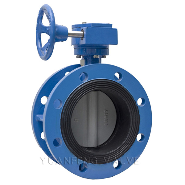 Center Line Flanged Butterfly Valve